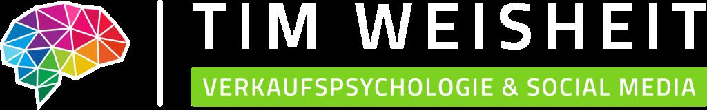 Tim Weisheit Logo und Schriftzug